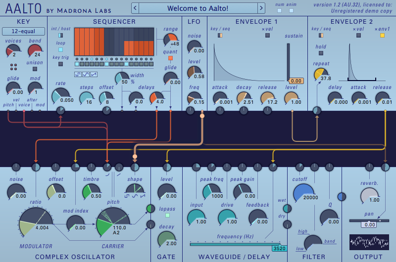 Madrona Labs Aalto virtual synth now available as VST for PC
