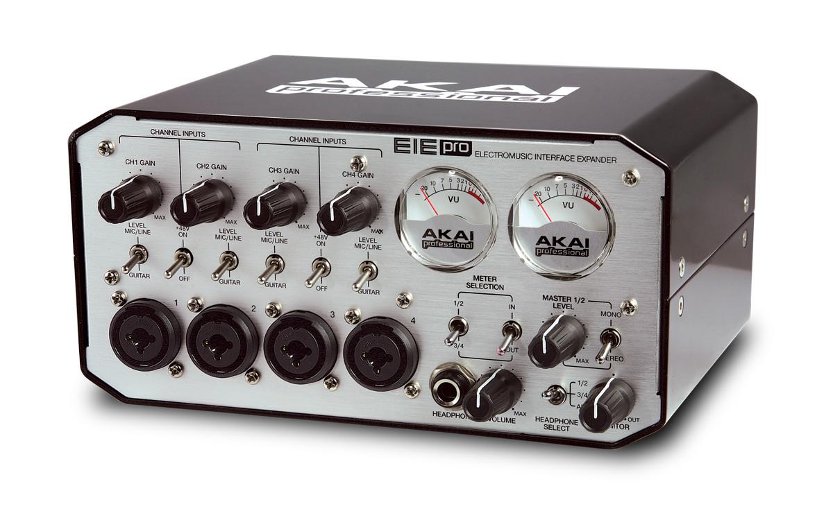 Poddi Personal Audio Interface : Akai professional eie pro audio interface and usb hub