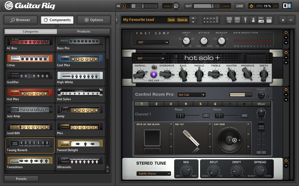 native instruments guitar rig 5 pro announced. Black Bedroom Furniture Sets. Home Design Ideas