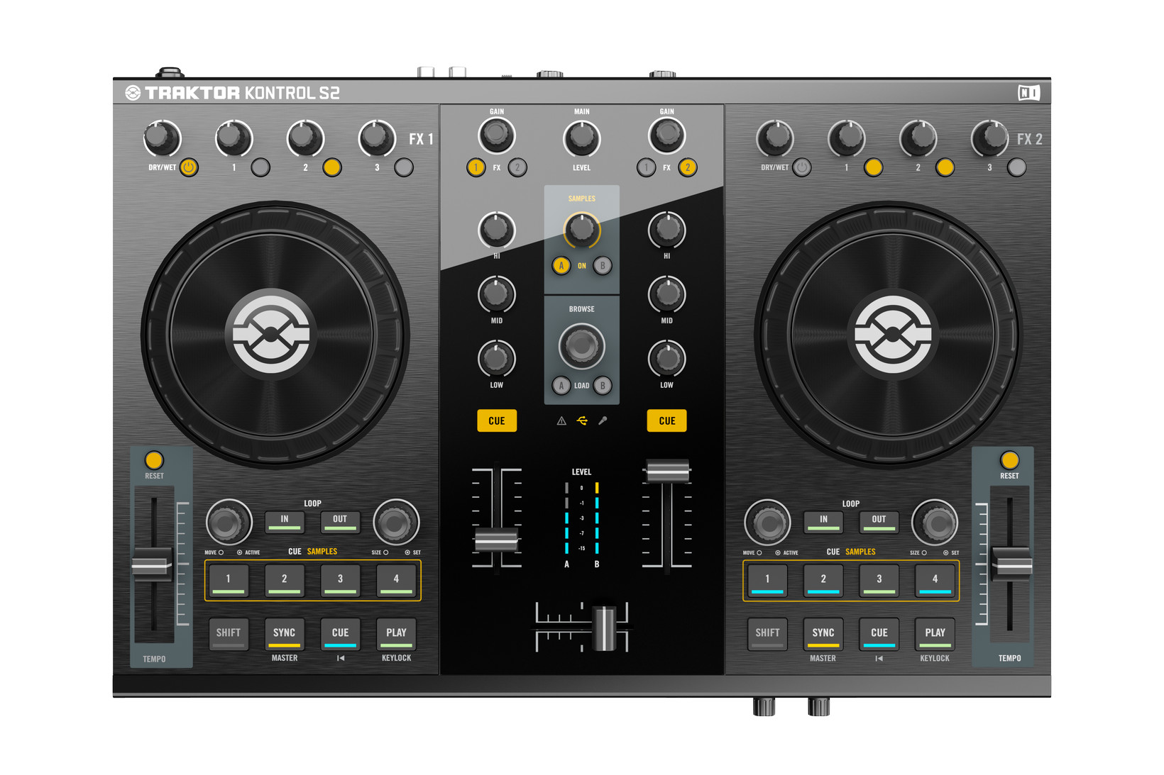 Native instruments traktor kontrol s2 mk2 review