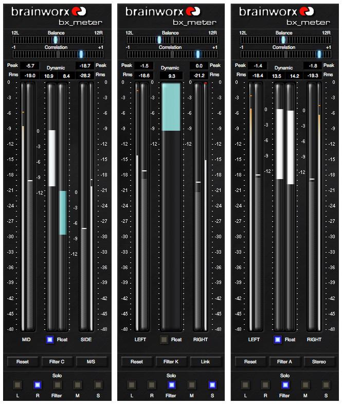 brainworx bx meter dynamic range meter effect for windows and mac