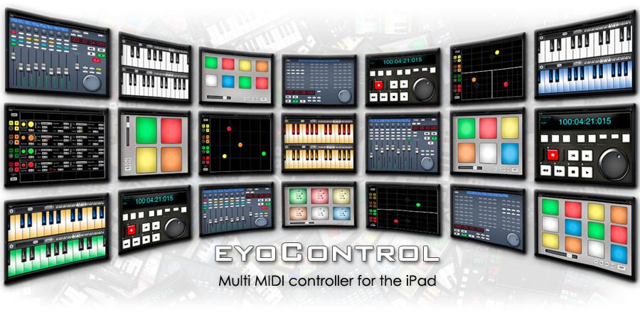eyosido eyocontrol multi midi controller app for ios updated to v1 5. Black Bedroom Furniture Sets. Home Design Ideas