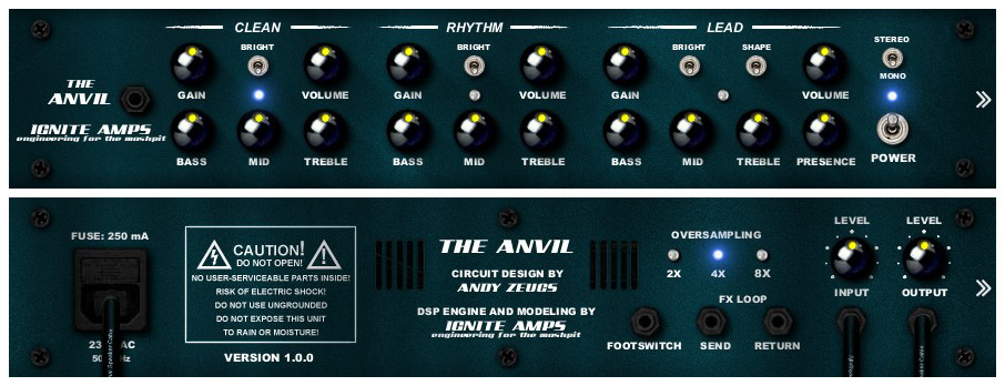 Resultado de imagen de The Anvil by Ignite Amps