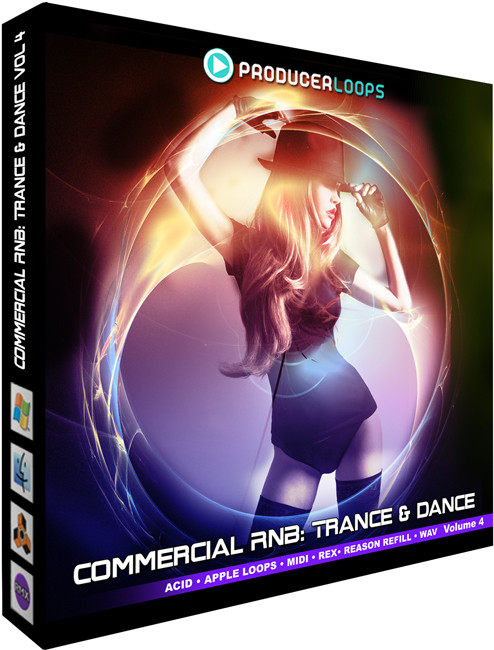 Producer Loops Commercial RnB: Trance & Dance Vol 4 sample