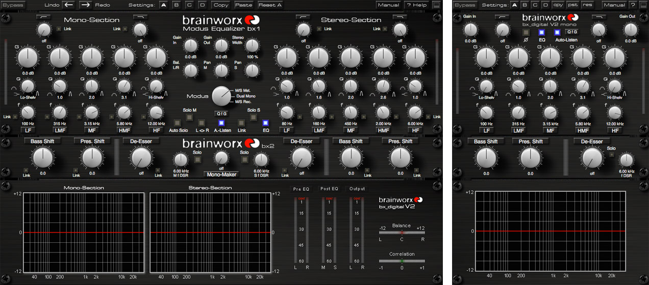 Universal Audio bx_digital V2 EQ and SPL Vitalizer MK2-T now