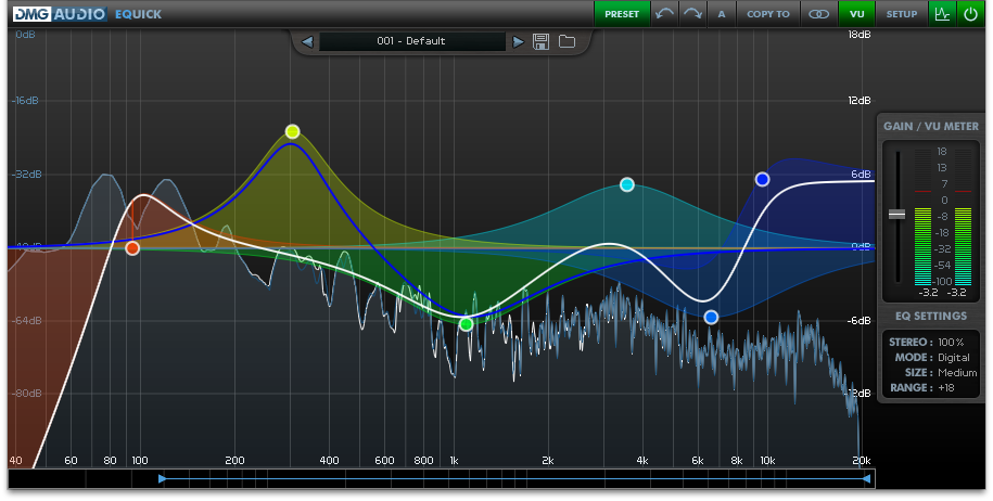 Dmg Audio Equick Equalizer Effect Plugin For Windows And Mac