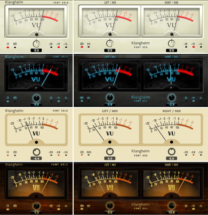 Digital Vu Meter : Klanghelm vumt vu meter trim effect plugin for windows