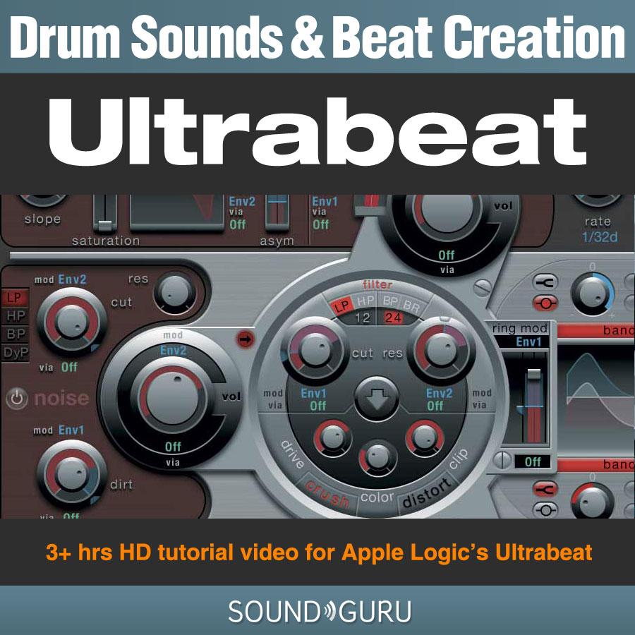 Samplerbanks Drum Sound and Beat Creation - Ultrabeat tutorial video