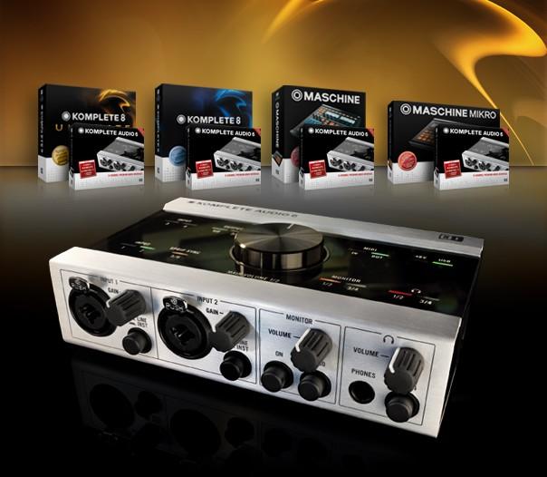 native instruments komplete audio 6 special offer. Black Bedroom Furniture Sets. Home Design Ideas