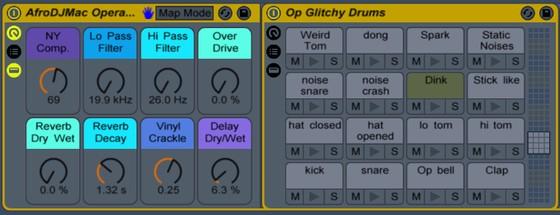 AfroDJMac Operator Glitchy Drums