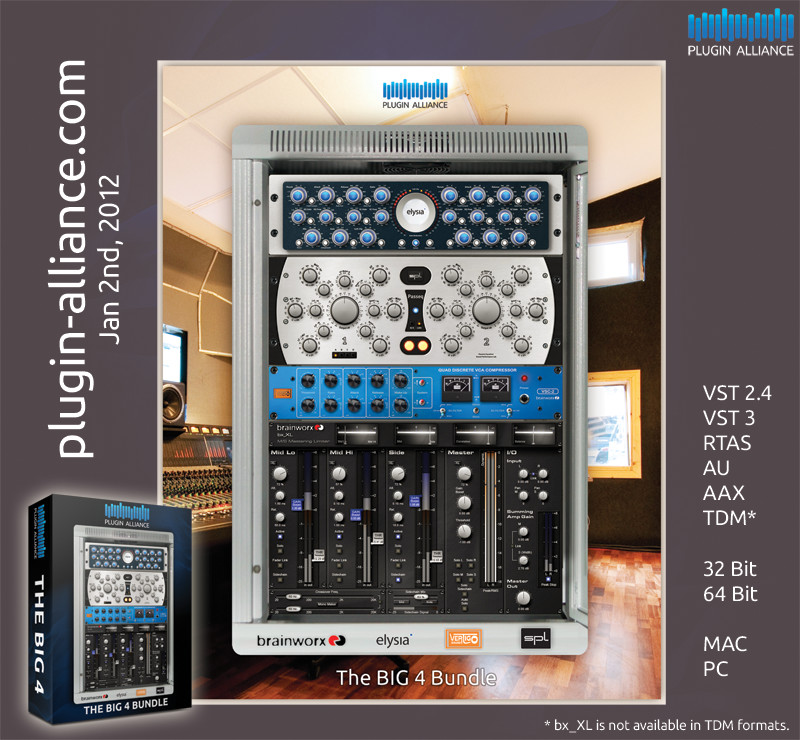 Plugin Alliance one stop shop for native & TDM plugins from