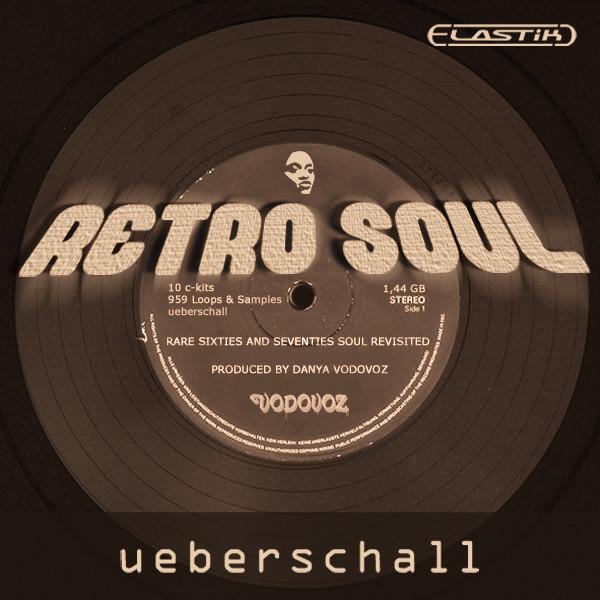 Ueberschall Retro Soul Elastik Soundbank for Windows and Mac