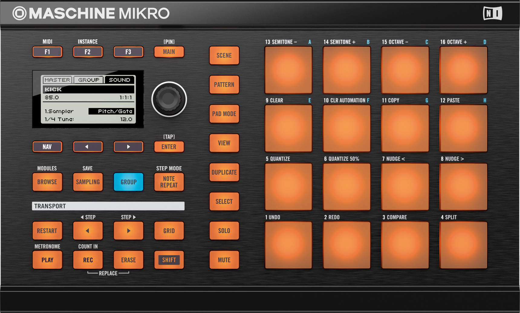 Review Native Instruments Maschine Mikro