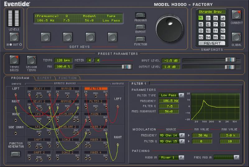 Eventide Blackhole and H3000 Factory Ultra-Harmonizer go native