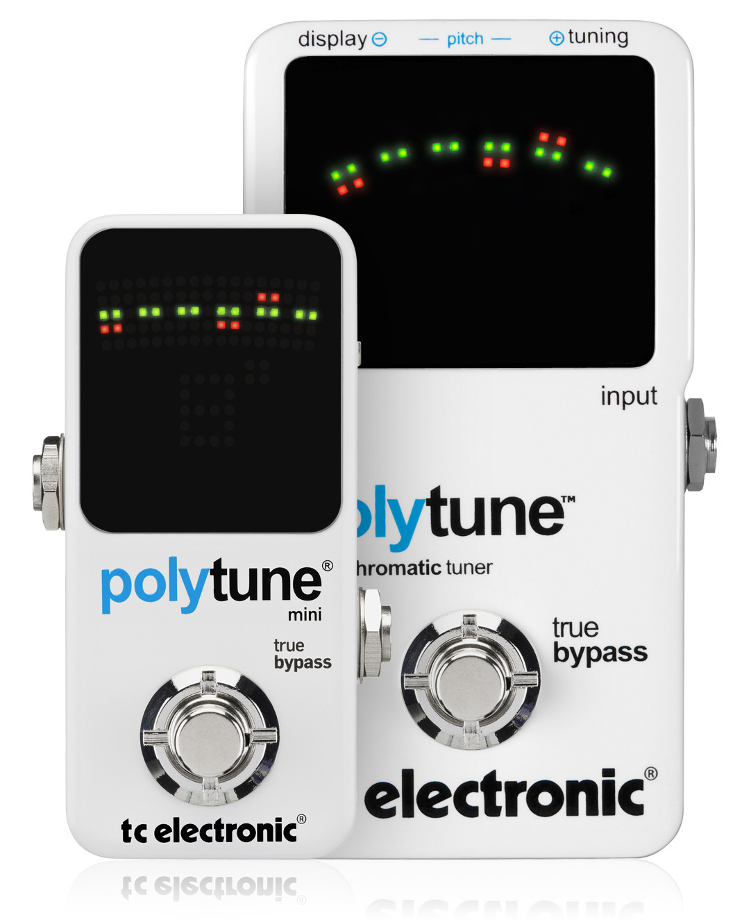 tc electronic polytune mini polyphonic tuner introduced. Black Bedroom Furniture Sets. Home Design Ideas