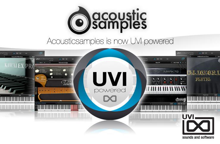 Acousticsamples sound libraries UVI Workstation 2 compatible
