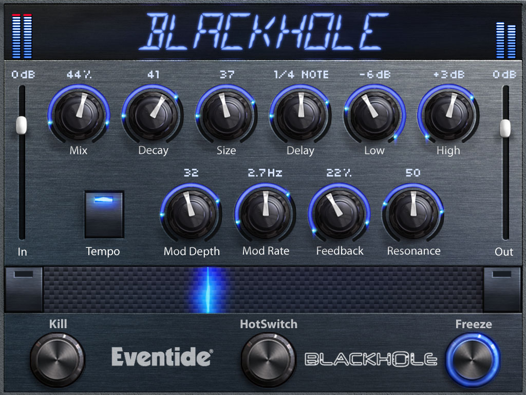 Eventide Space Stompbox Giveaway - Win Blackhole native plugin