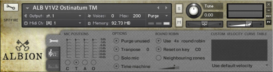 spitfire albion. spitfire audio albion