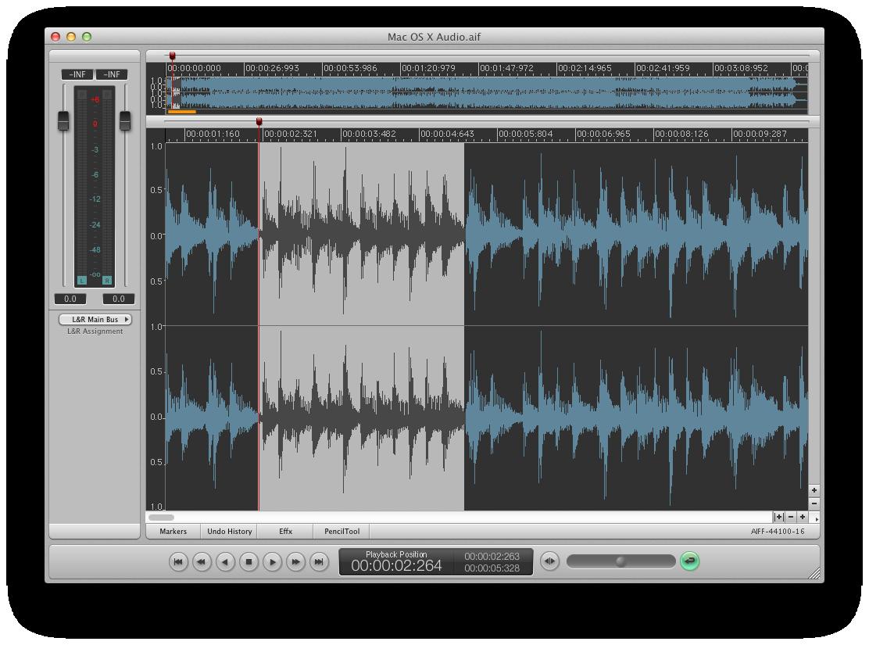 i3 DSP-Quattro 4 audio editor/audio CD mastering for Mac