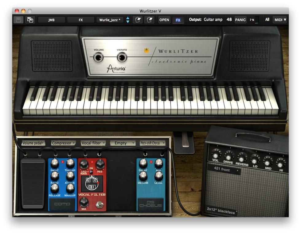 WatFile.com Download Free Arturia Wurlitzer V electric piano software for Windows and Mac