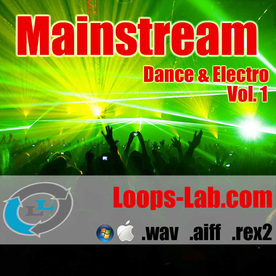 Loops lab mainstream vol 1 dance electro sample pack for Mainstream house music