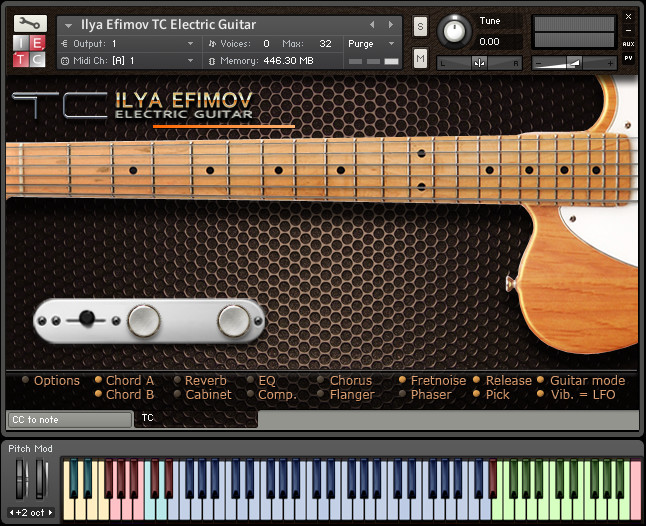 ilya efimov tc electric guitar tc strum for ni kontakt. Black Bedroom Furniture Sets. Home Design Ideas