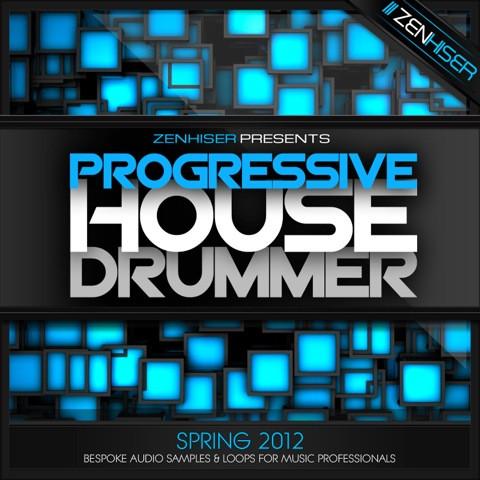 Zenhiser progressive house drummer sample pack for Zenhiser classic house drum sounds