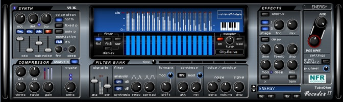 TubeOhm Vocoder-II VST effect plugin for Windows