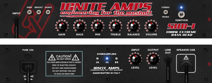 ignite amps shb 1 free tube amplifier effect plugin for pc and mac. Black Bedroom Furniture Sets. Home Design Ideas