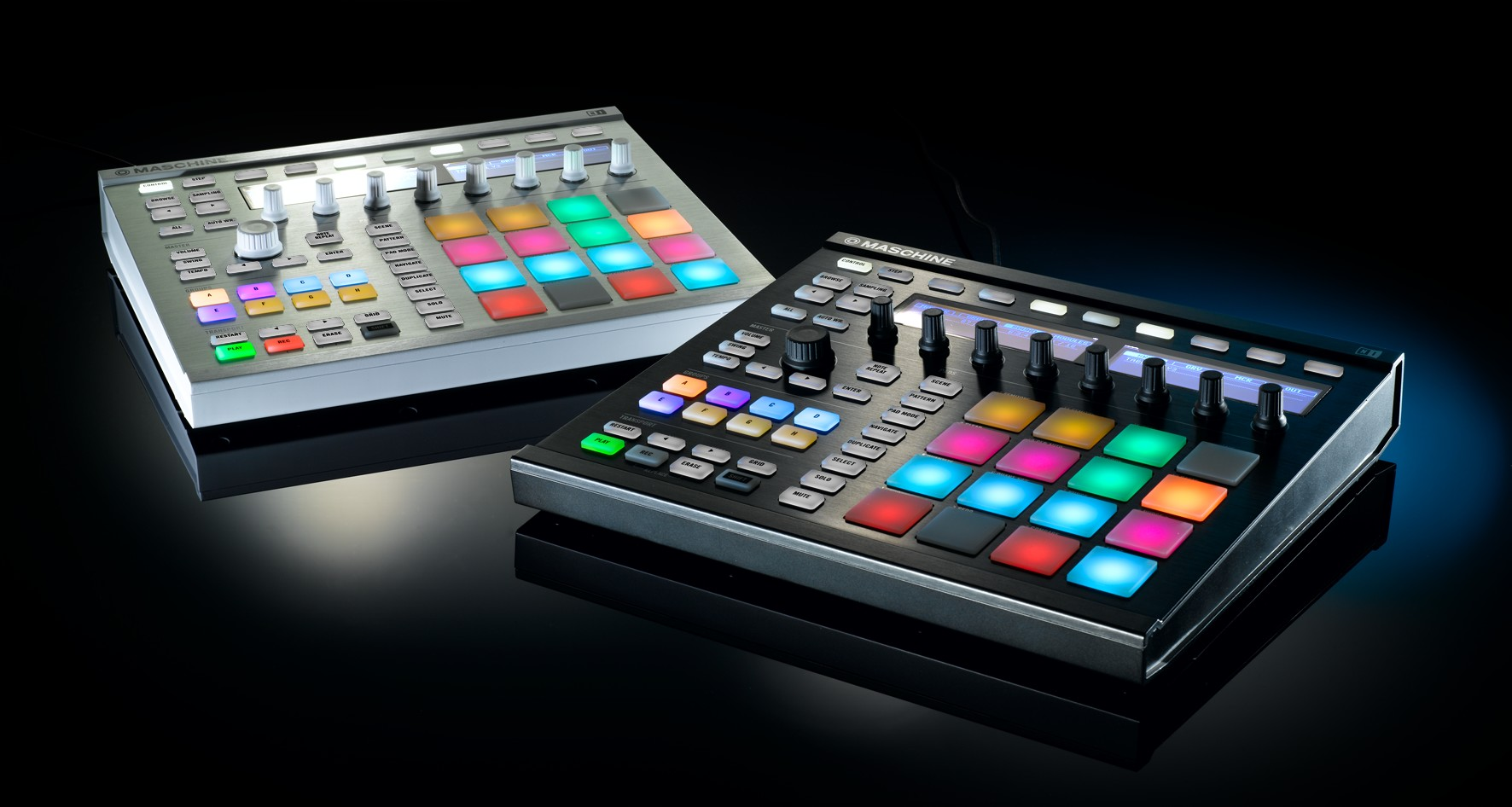 native instruments maschine mk2 version 1 8 major overhaul with new updates to hardware and. Black Bedroom Furniture Sets. Home Design Ideas