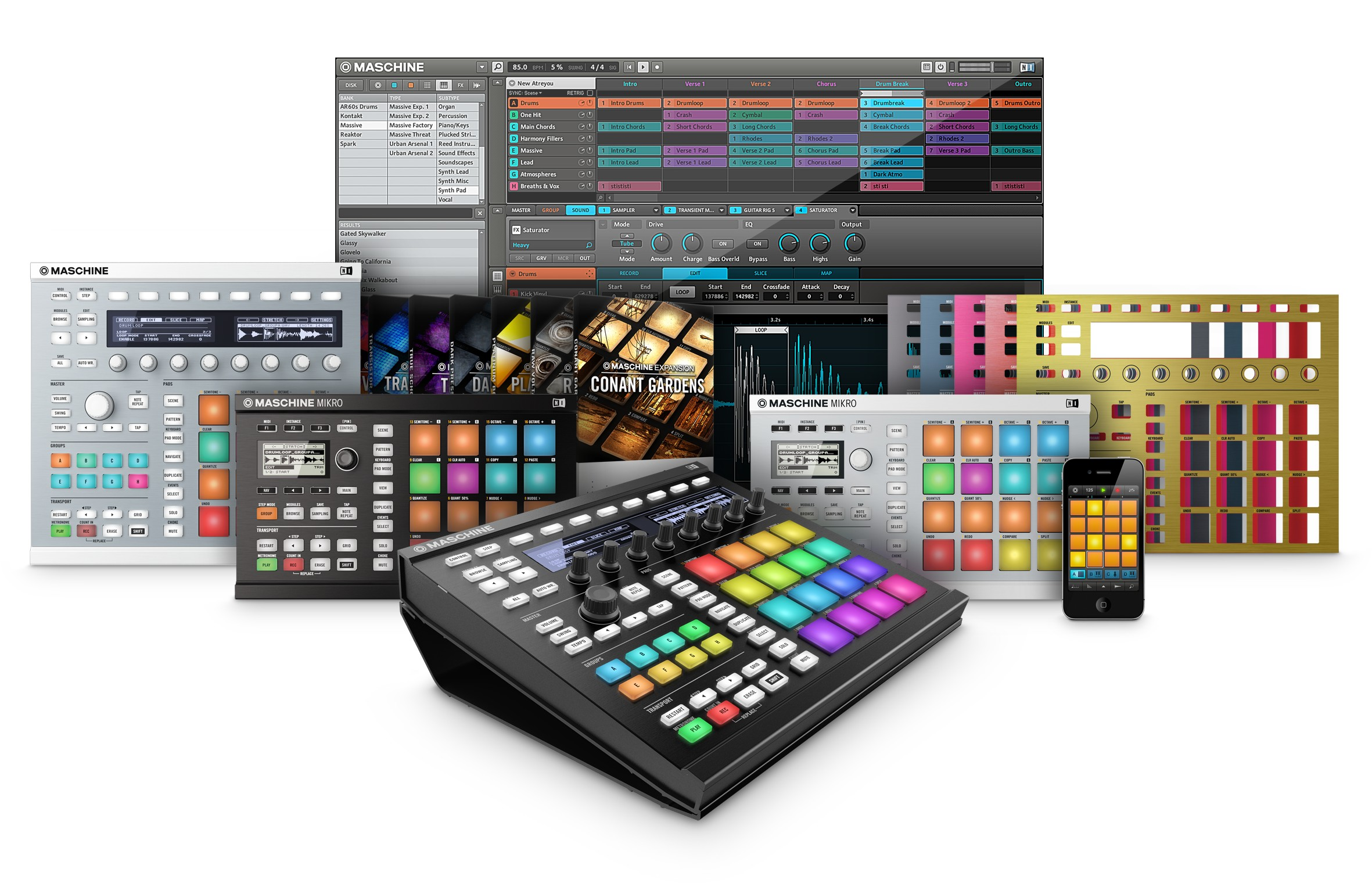 Native Instruments Maschine 2 v2.2.3.Update-R2R