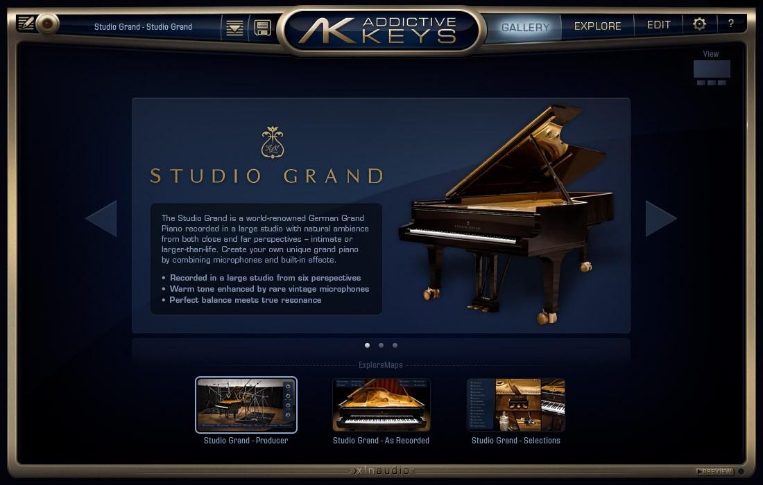 Addictive Keys Studio Grand : xln audio addictive keys studio grand modern upright mark one virtual instruments ~ Hamham.info Haus und Dekorationen
