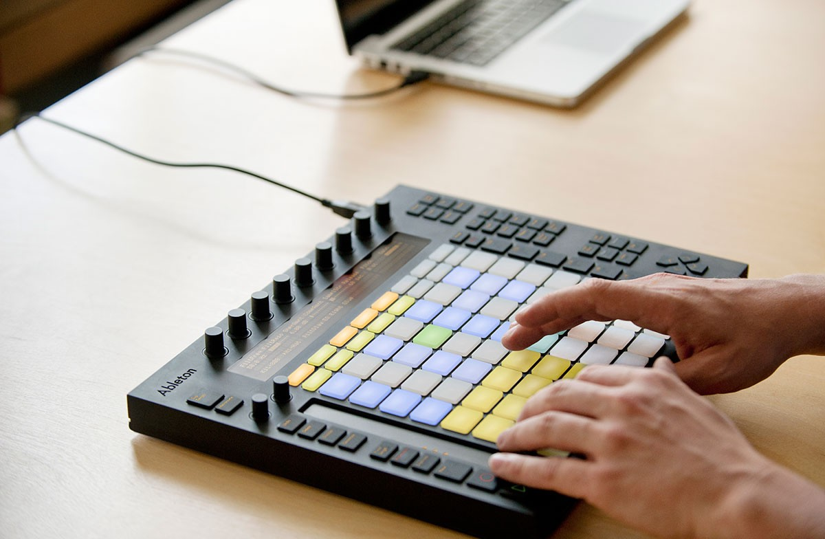 ableton live 9 music production software and push controller announced. Black Bedroom Furniture Sets. Home Design Ideas
