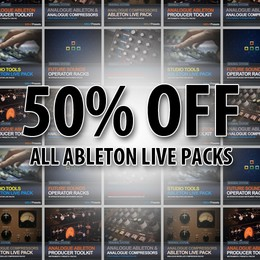 MSI Ableton Live Packs half price