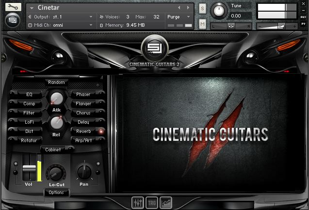 Sample Logic Cinematic Guitars 2 sound library released