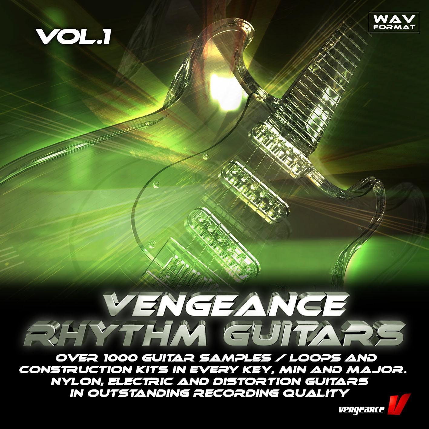 Vengeance Rhythm Guitars Vol.1 sample pack released