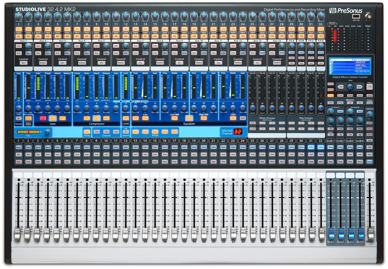 Presonus Studiolive 32 4 2ai Digital Mixing System With