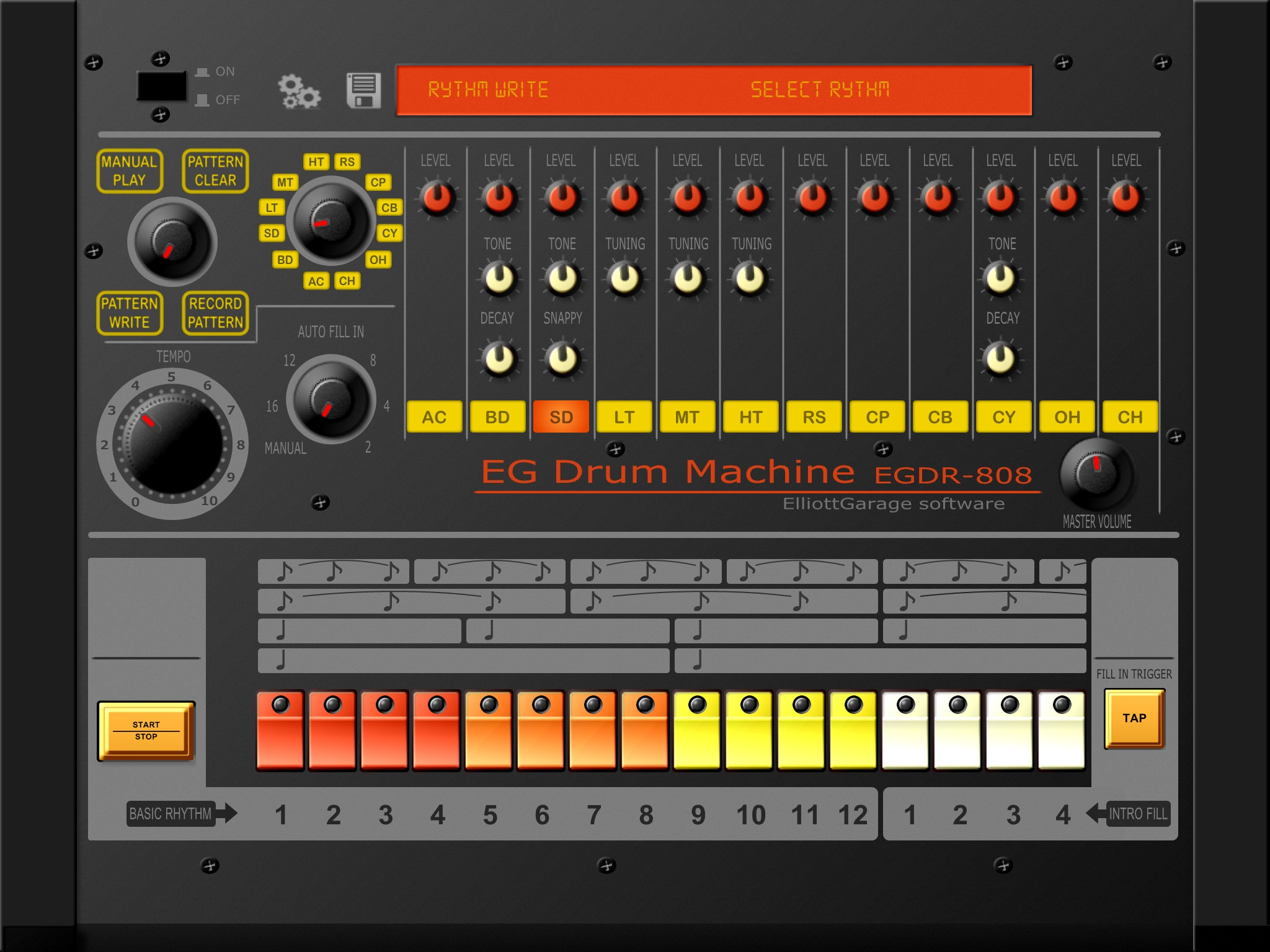Red Devil Drum Machine Free Download : elliottgarage egdr808 drum machine app updated to v2 0 ~ Vivirlamusica.com Haus und Dekorationen