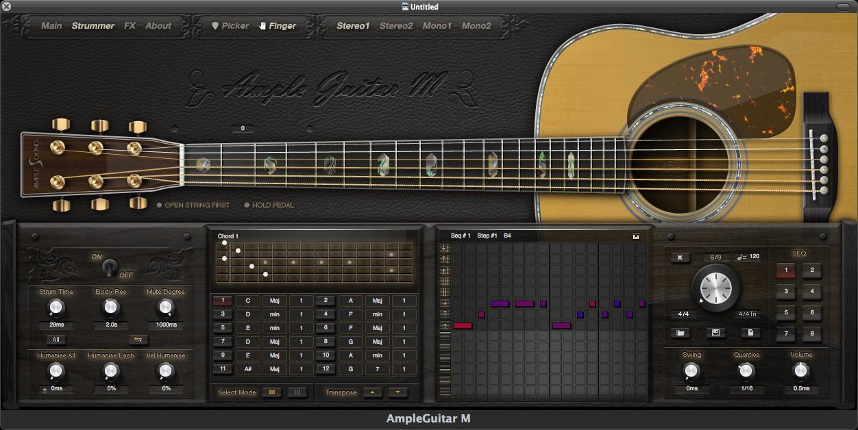 ample sound ample guitar m virtual guitar instrument released. Black Bedroom Furniture Sets. Home Design Ideas