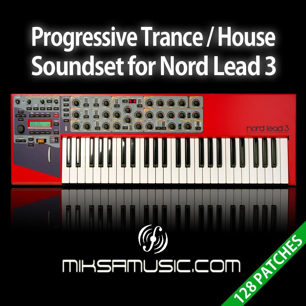 Miksa music progressive trance house soundset for nord for Trance house music