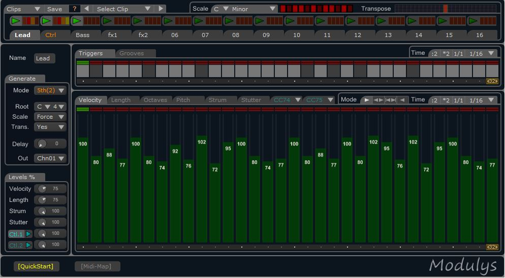 Nassen Modulys MIDI plugin for Windows