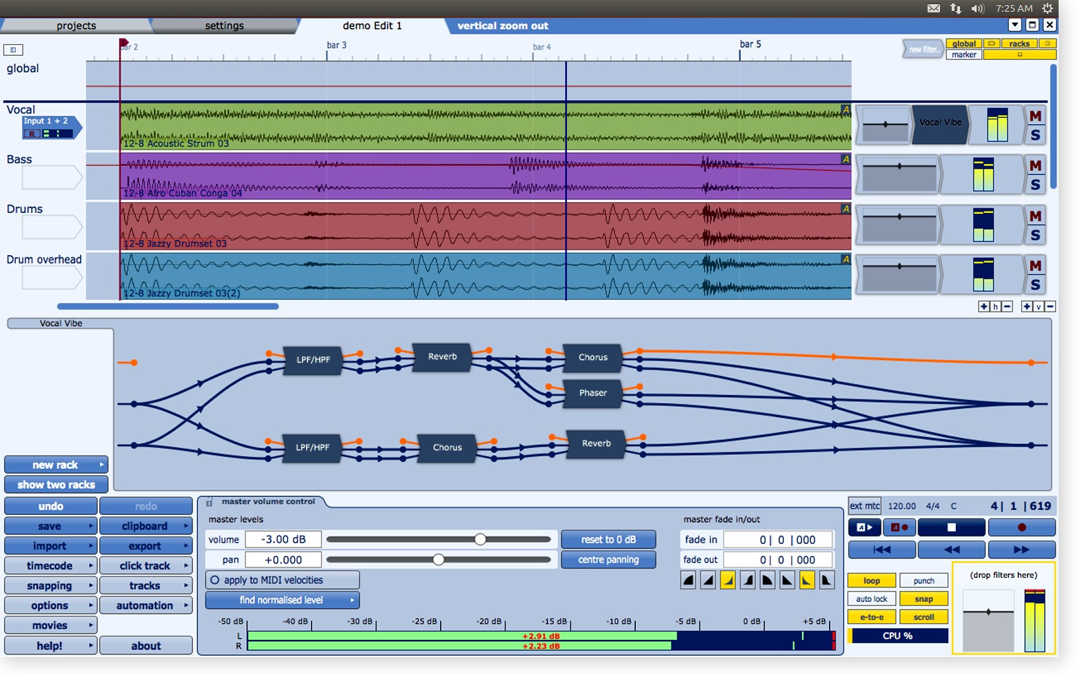 Tracktion Software Announces Linux Support For Tracktion 4