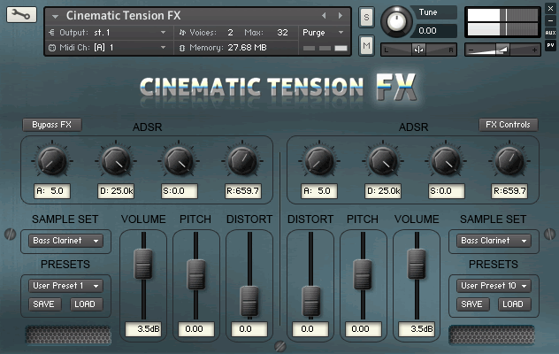 Cacophony Inc Cinematic Tension FX