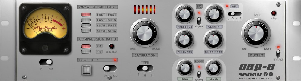 maxsynths dsp 2 vocal effect plugin for windows. Black Bedroom Furniture Sets. Home Design Ideas