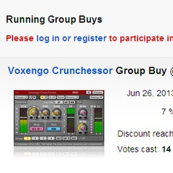 Voxengo Crunchessor Group Buy