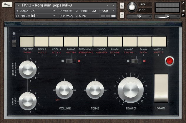 Forgotten Keys Korg Mini-Pops 3