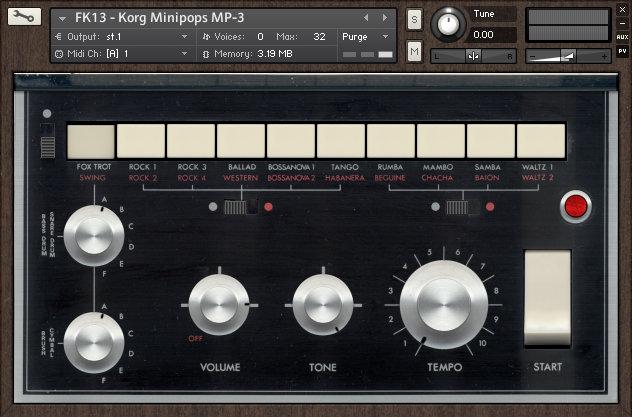 Forgotten Keys Korg Mini-Pops 3