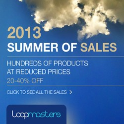 Loopmasters Summer Sale