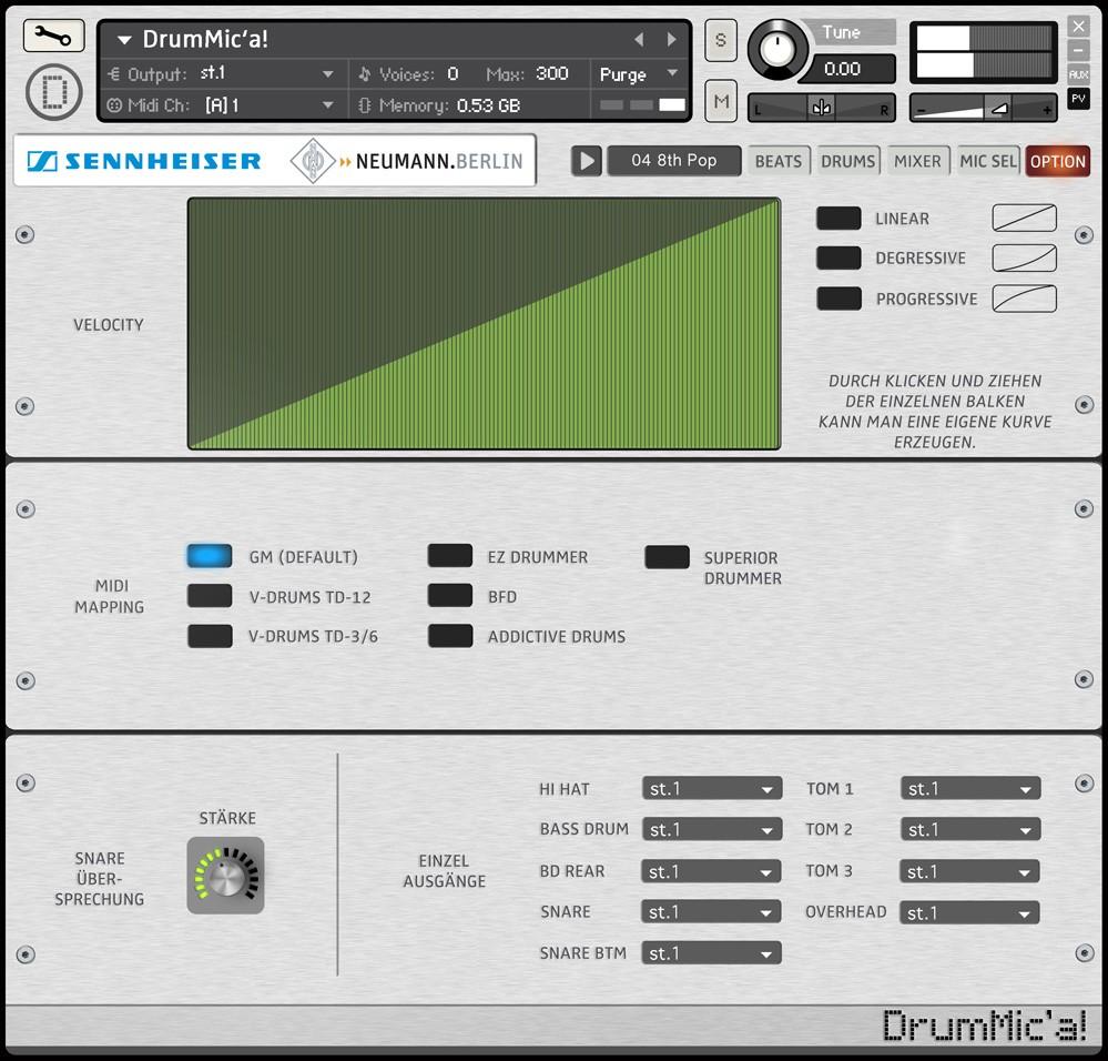 Sennheiser Drummic A Free Virtual Drum Instrument For Ni