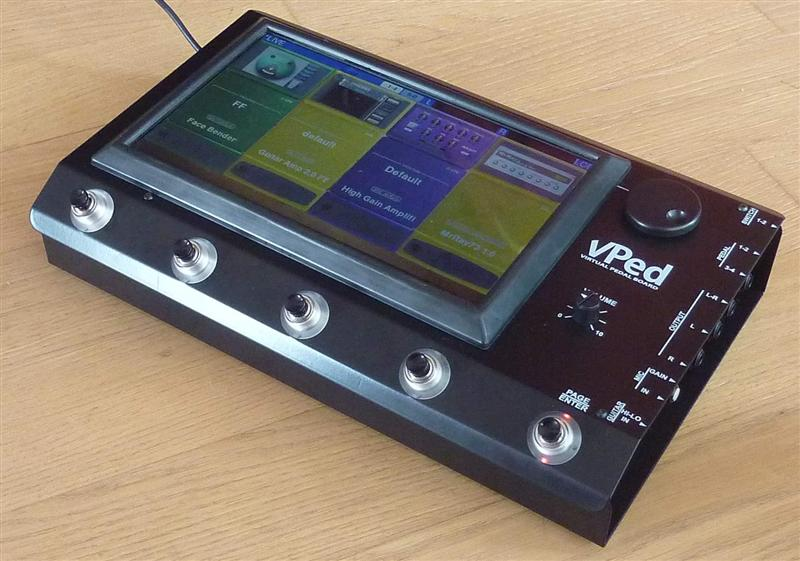 Virtones vPed pedal board VST host announced